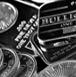 pile of silver bullion