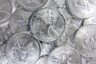 Uncirculated american eagle silver coins