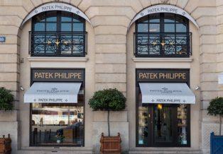 Patek Philippe power reserve moon steel