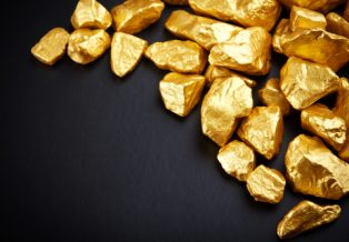 physical gold and mining shares