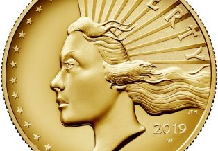 2019 American Liberty High Relief Gold Coin