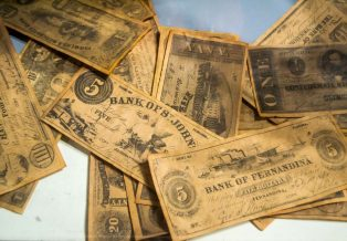 Currency Spotlight Series Of 1917 1 Legal Tender Note Red Seal Sawhorse
