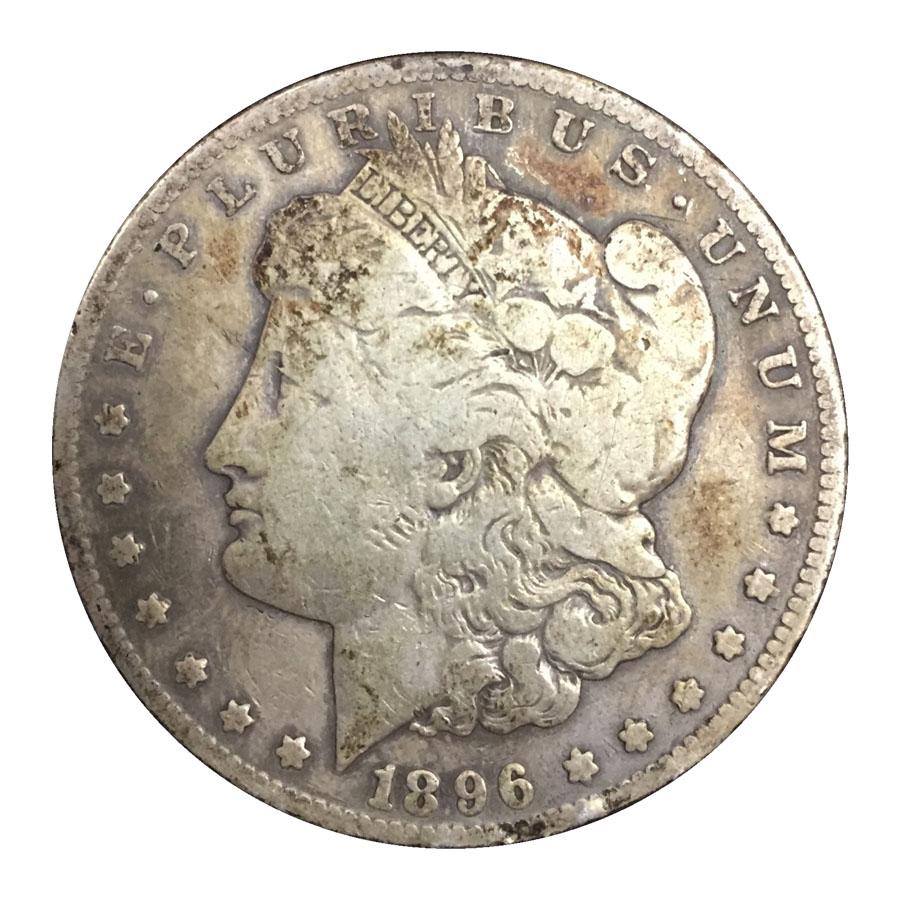no date morgan silver dollar