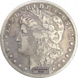 1878-1904 $1 Morgan Silver Dollar VG to F