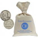 $100 Face Value Bag 90% Silver Franklin Half Dollars Full Dates