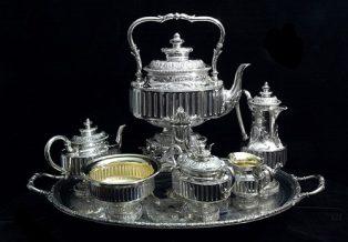upscale silver flatware