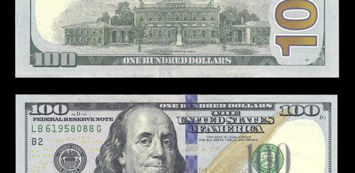 chop marks 100 bills