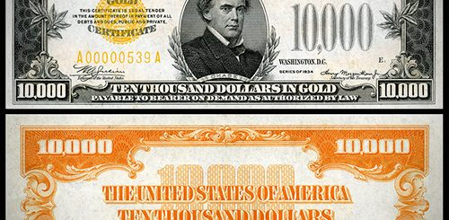 Series of 1882 100 Large Gold Certificate
