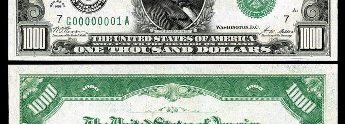 Series of 1928 Bill