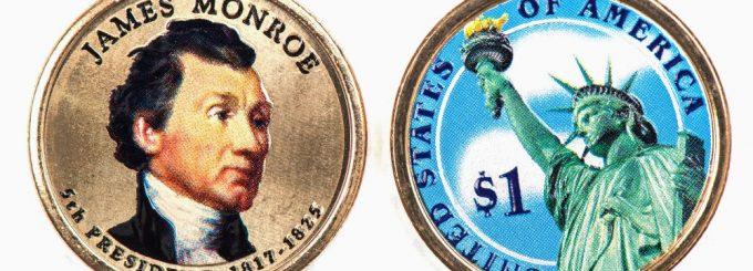 James Monroe Presidential Coin