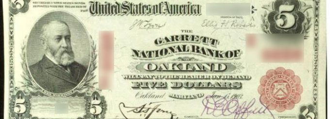 Overview of The 1902 5 First National Bank of Mount Vernon Bill