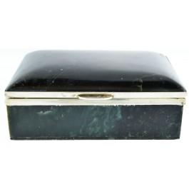 Oscar Julius Dietrich Vienna Austrian 925 Sterling Silver Serpentine Trinket Box
