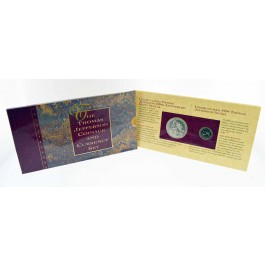 1993-1994 Thomas Jefferson Commemorative Coinage And Currency Set OGP