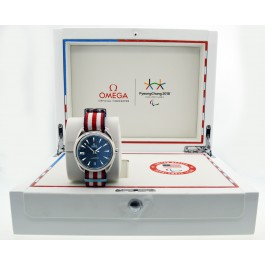Omega Seamaster Aqua Terra 41mm 2018 Pyeongchang Paralympic Games Watch With Box