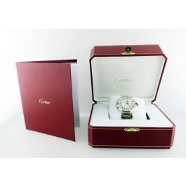 Cartier Ballon Bleu 42mm 18k Gold & Stainless Steel Automatic Watch W69009Z3