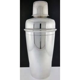 Art Deco 1925 Tiffany & Co 925 Sterling Silver Cocktail Shaker 3 Pint No Mono
