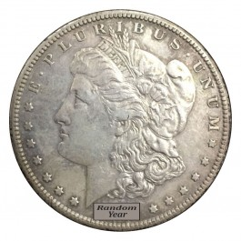 Random Year 1878-1904 $1 Morgan Silver Dollar VF to XF Circulated Coin