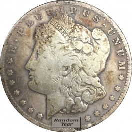 Random Year $1 Cull Morgan Silver Dollars Full Date No Holes 1878-1904