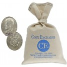 $100 Face Value Bag 40% Silver Kennedy Half Dollars Full Dates