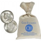 $100 Face Value Bag 90% Silver Kennedy Half Dollars Full Dates