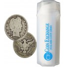 FULL DATES Roll of 40 $10 Face Value 90% Silver Barber Quarters