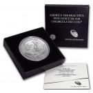 2016 P Cumberland Gap America The Beautiful ATB 5 oz .999 Fine Silver Coin OGP
