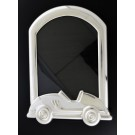 """Tiffany & Co Spain Sterling Silver Car Baby Portrait Picture Frame 7.25"""" x 4.75"""""""