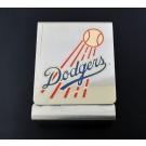 Vintage 1950 Brooklyn Dodgers Baseball Team Home Schedule Metal Cigarette Case