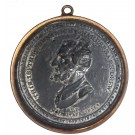 1809 Covent Garden Theater Old Price Riots Protest Medal Token In Bezel