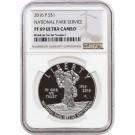 2016 P $1 National Park Service Centennial Commemorative Silver Dollar NGC PF69 UC