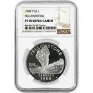 1999 P $1 Yellowstone National Park Commemorative Silver Dollar NGC PF70 UC