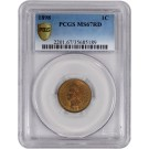 1898 1C Indian Head Cent PCGS MS67 RD Red Gem Uncirculated Coin