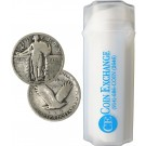 Roll of 40 $10 Face 90% Silver Standing Liberty Quarters Full Dates
